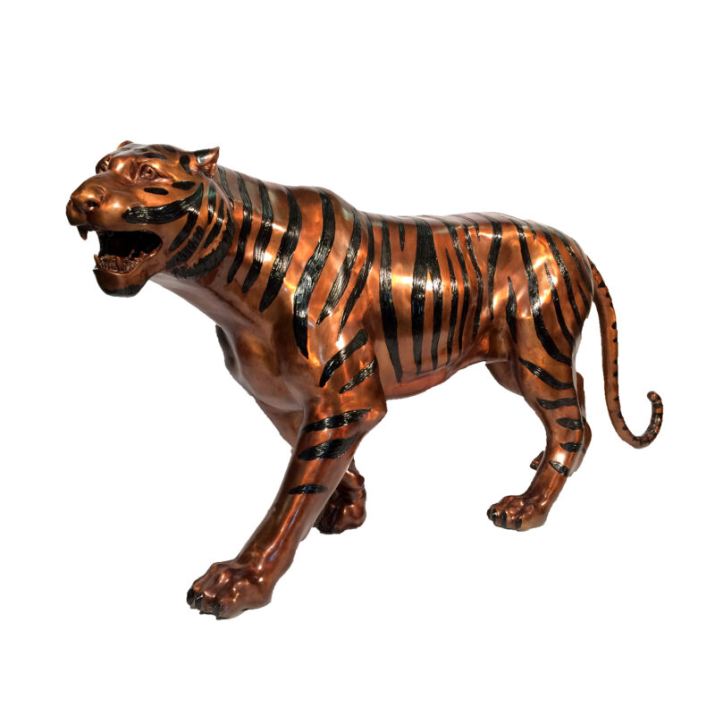 SRB15032 Bronze Bengal Tiger Sculpture by Metropolitan Galleries Inc