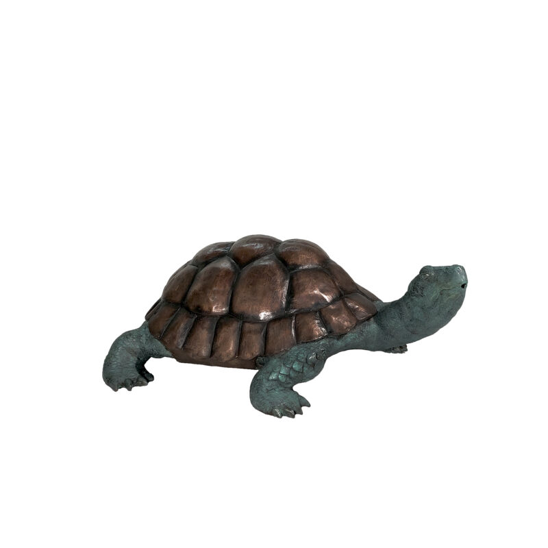 SRB058478 Bronze Small Turtle Fountain Sculpture by Metropolitan Galleries Inc