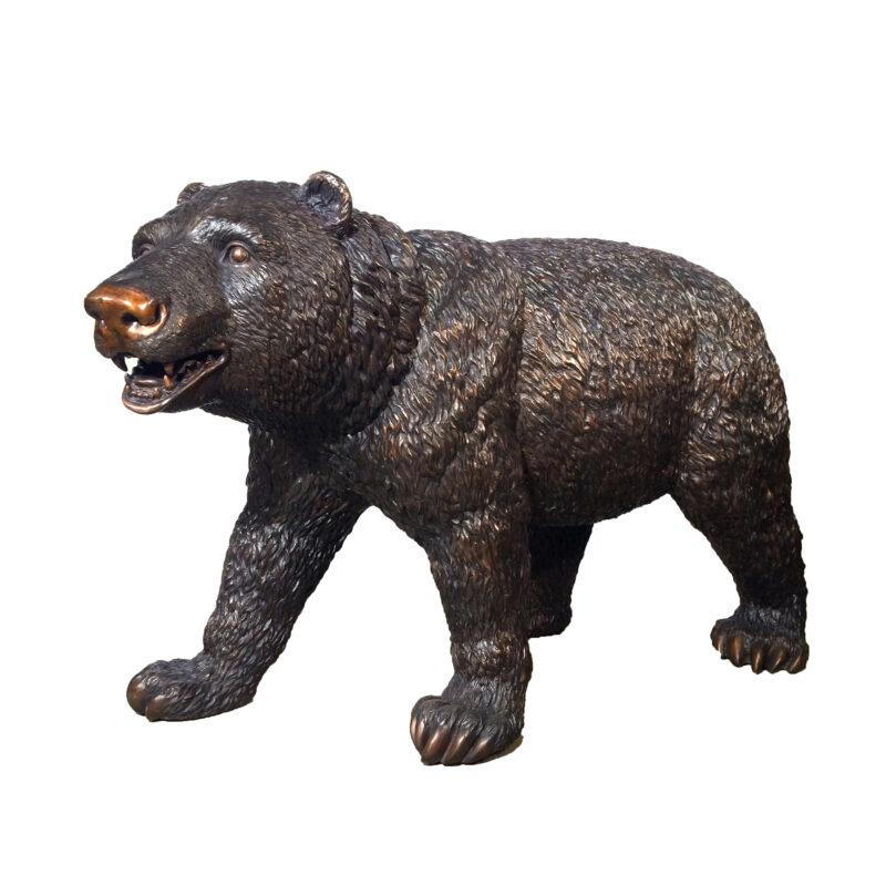 Bronze Mother Bear Sculpture Metropolitan Galleries Bronze Sculpture Wholesale