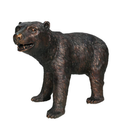 Bronze Young Bear Sculpture Metropolitan Galleries Inc.