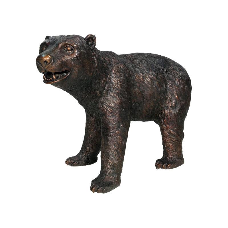 Bronze Young Bear Sculpture Metropolitan Galleries Inc.