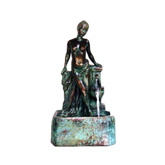 SRB44677 Bronze Lady Wall Fountain Sculpture Metropolitan Galleries Inc.
