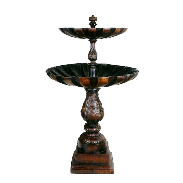 SRB87051 Bronze Two Tier Fountain Metropolitan Galleries Inc.