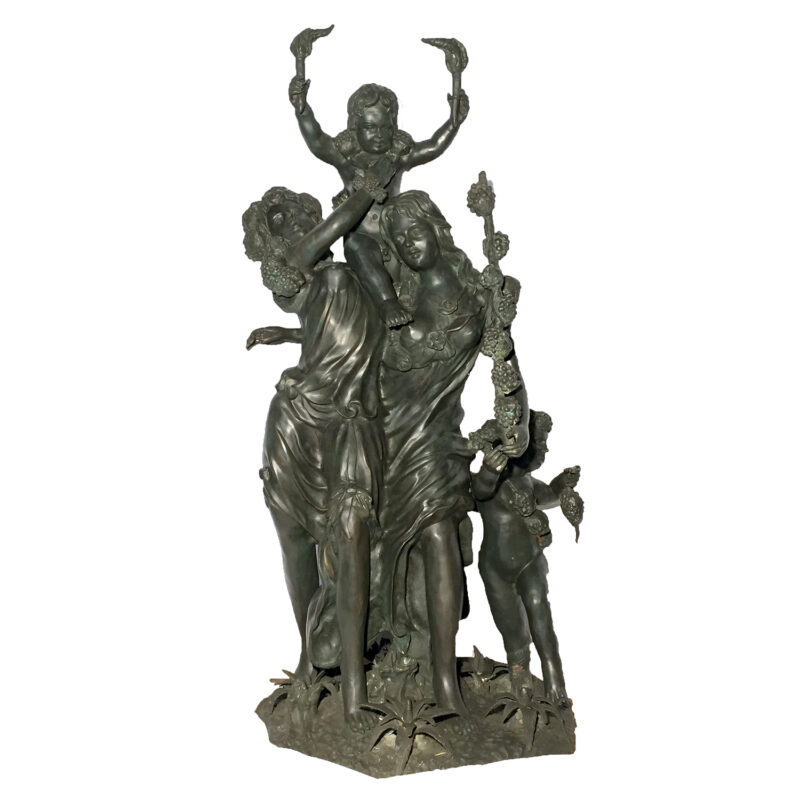 SRB991374 Bronze Spring After Clodion Sculpture Metropolitan Galleries Inc.