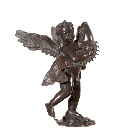 Bronze Verrocchino Fountain Sculpture Metropolitan Galleries Inc.