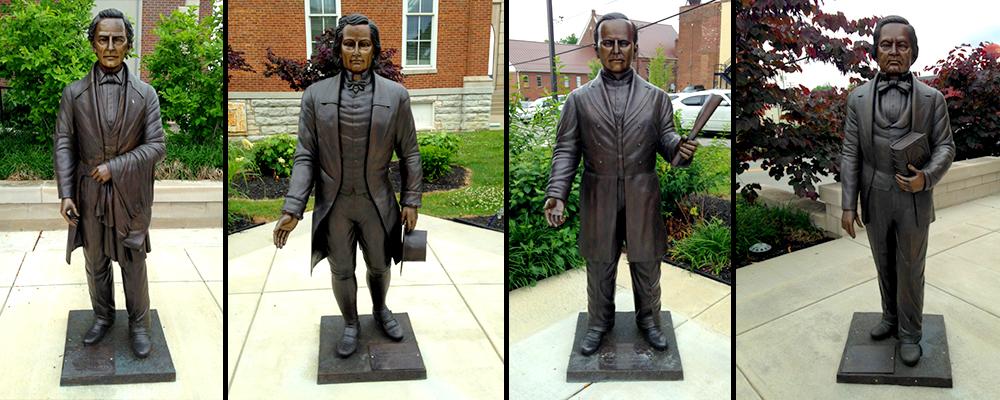 Governor Memorial Bronze Statues, Garrard County, Kentucky