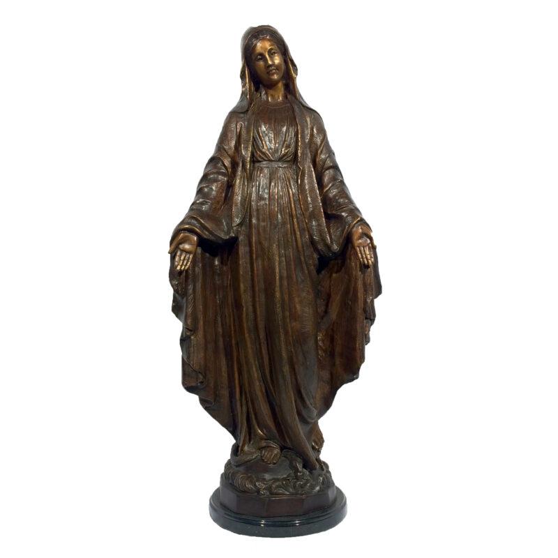 SRB029508 Bronze Madonna Sculpture Metropolitan Galleries Inc.