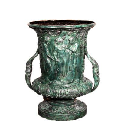 SRB25123 Bronze Grape Urn Metropolitan Galleries Inc.