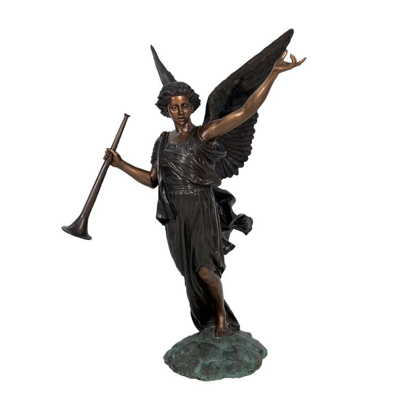 SRB45195 Bronze Gabriel Sculpture by Metropolitan Galleries Inc