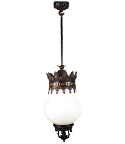 Cast Bronze Chandelier