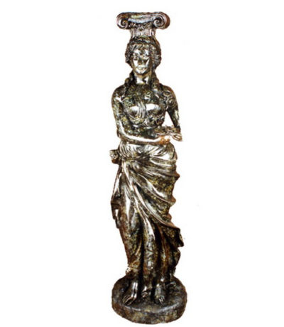 SRB84047 Bronze Caryatid Allegorical Sculpture Metropolitan Galleries Inc.