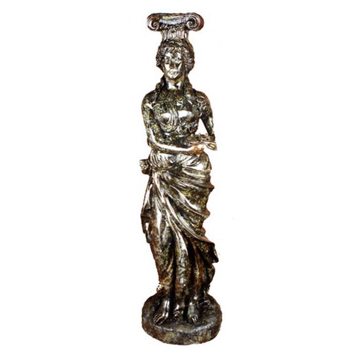 SRB84047 Bronze Caryatid Allegorical Sculpture Metropolitan Galleries Inc.
