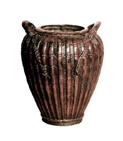 Bronze Lobed Vessel Metropolitan Galleries Inc.