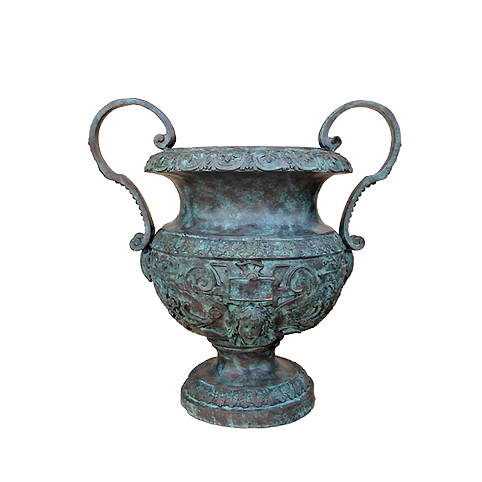 SRB85109 Bronze Classical Planter Urn by Metropolitan Galleries Inc