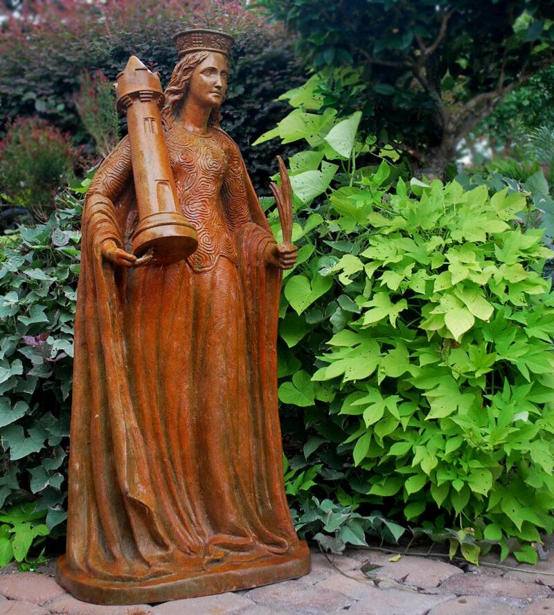 SRB95007 Bronze Chess Queen Sculpture Metropolitan Galleries Inc.