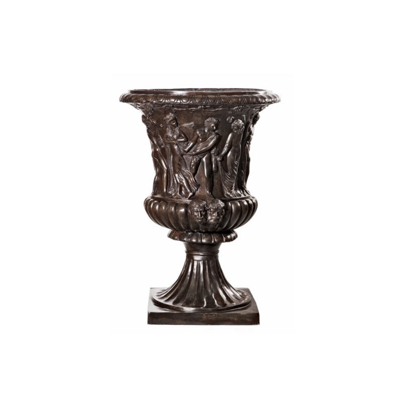 SRB96003 Bronze Festival Planter Urn by Metropolitan Galleries Inc