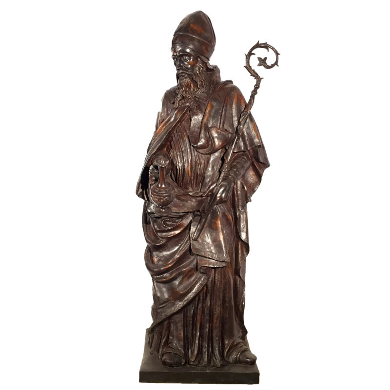 Cast Bronze Saint Louis of Toulouse Statue