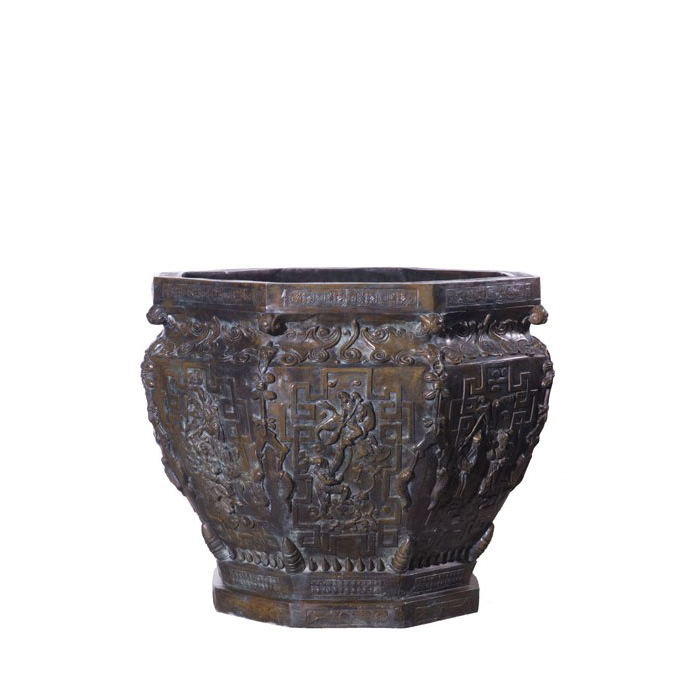 SRB991227 Bronze Chinese Vessel Metropolitan Galleries Inc.