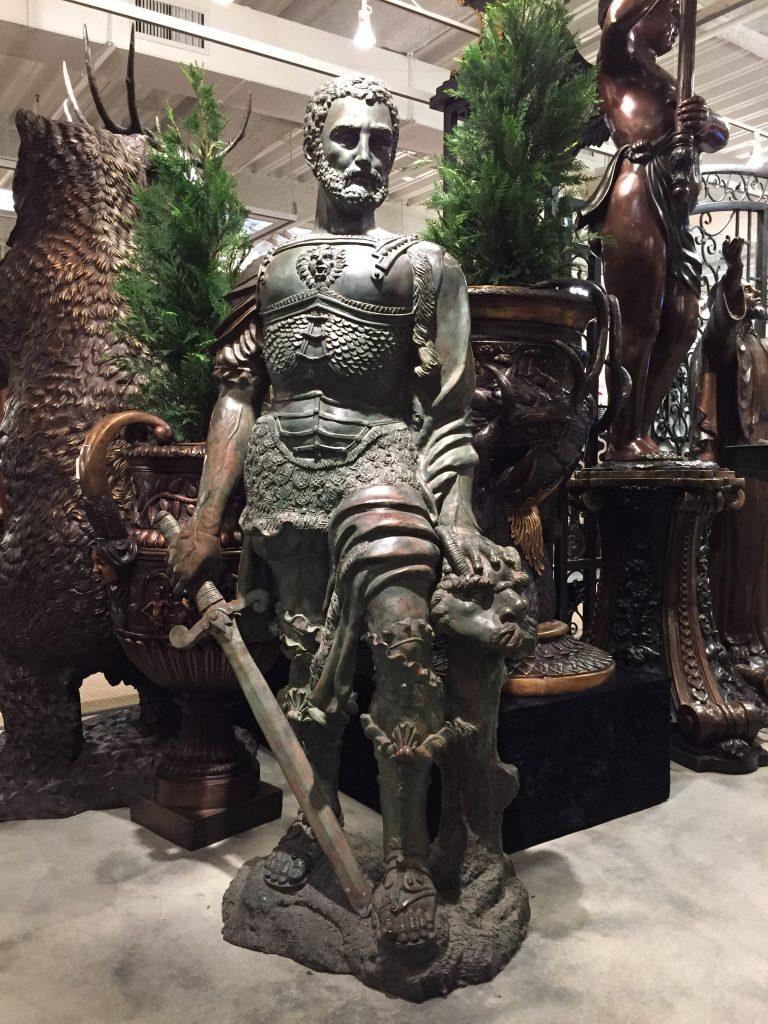 Bronze Gian Giacomo De Medici Statue Metropolitan