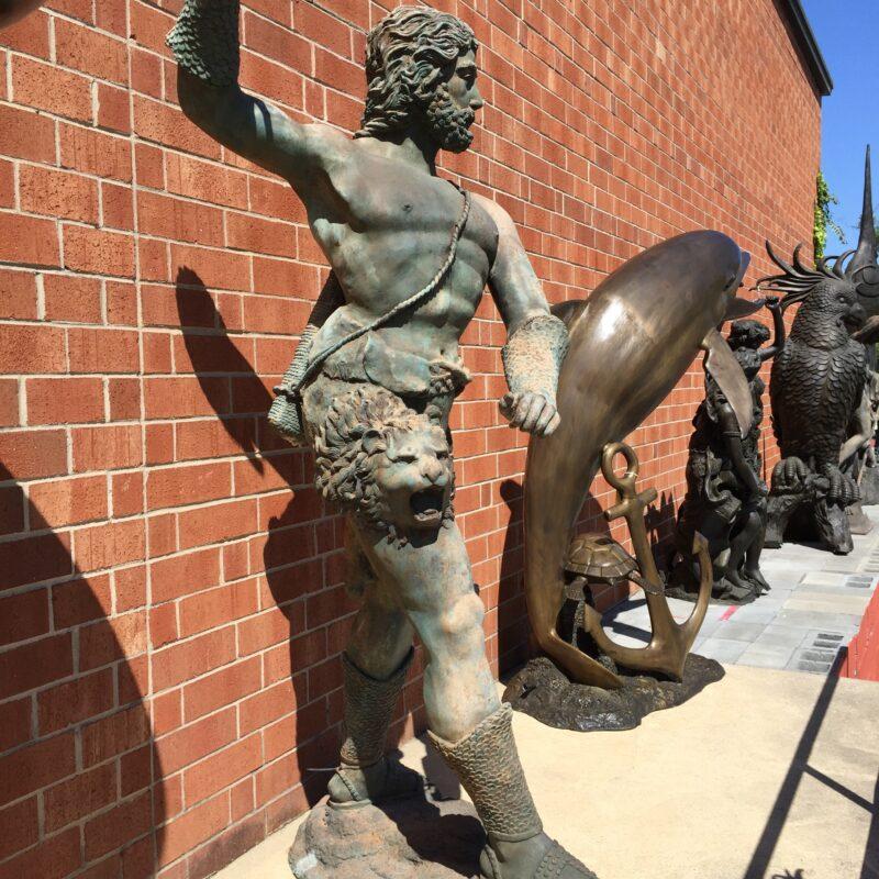 SRB991254 Bronze Tracr Trophy Sculpture Metropolitan Galleries Inc.
