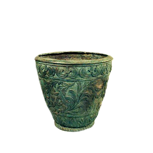 SRB991338 Bronze Jardiniere Urn Metropolitan Galleries Inc.