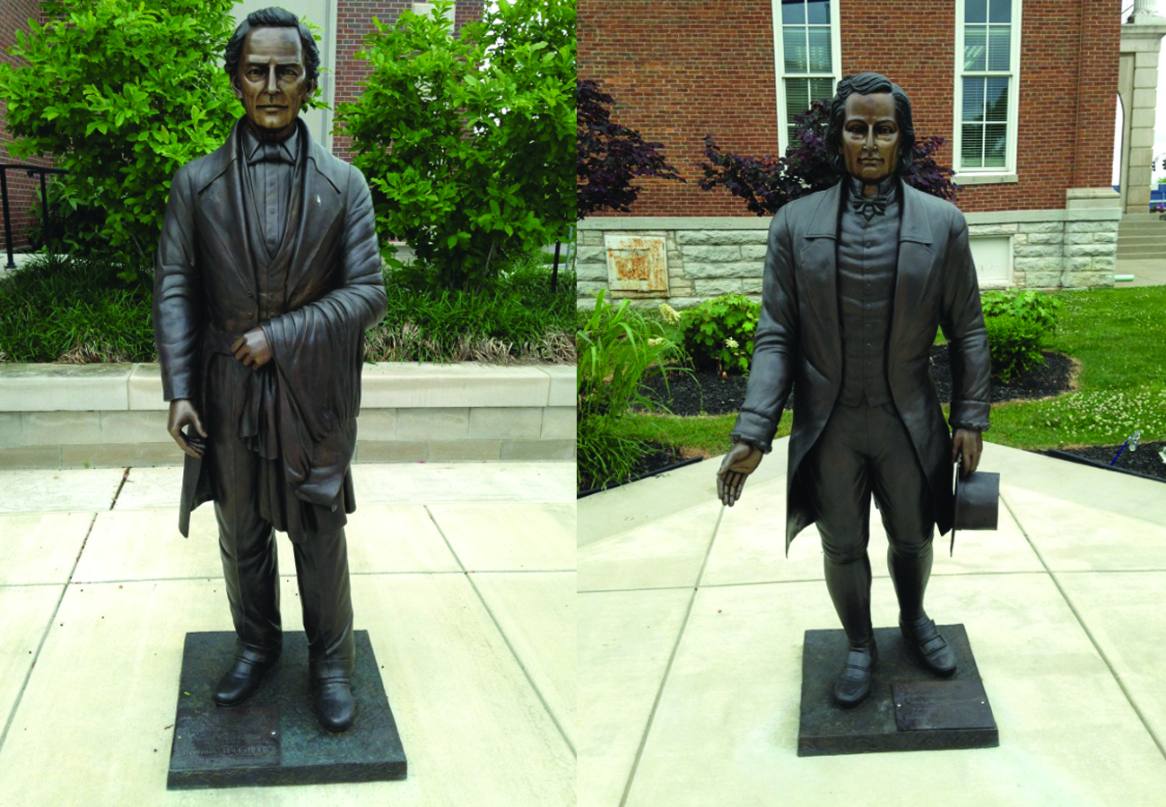 Governor Memorial Bronze Statues Metropolitan Galleries Inc