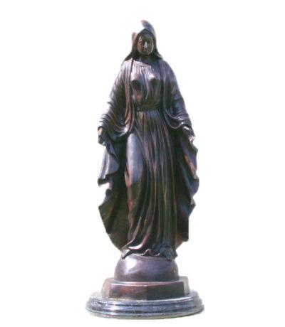 SRB81409 Bronze Immaculate Conception Sculpture Metropolitan Galleries Inc.