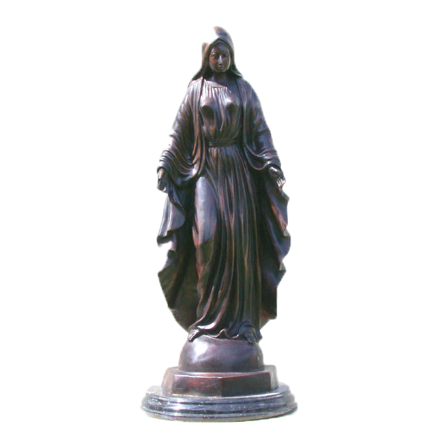 SRB81409 Bronze Immaculate Conception Sculpture Metropolitan Galleries Inc.