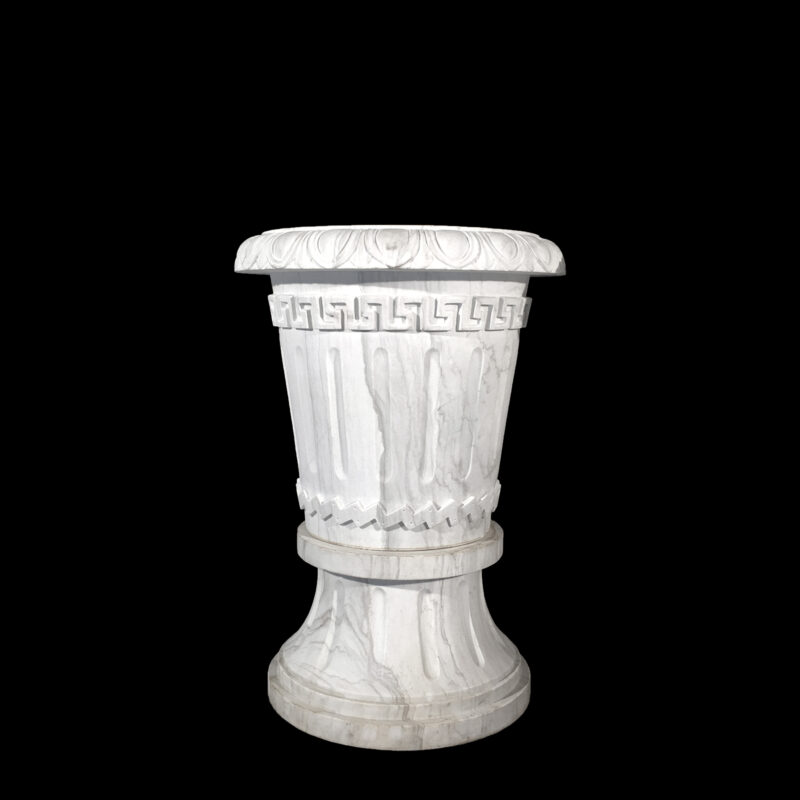 Hearst Castle Marble Casa Del Sol Urn Metropolitan Galleries Inc.