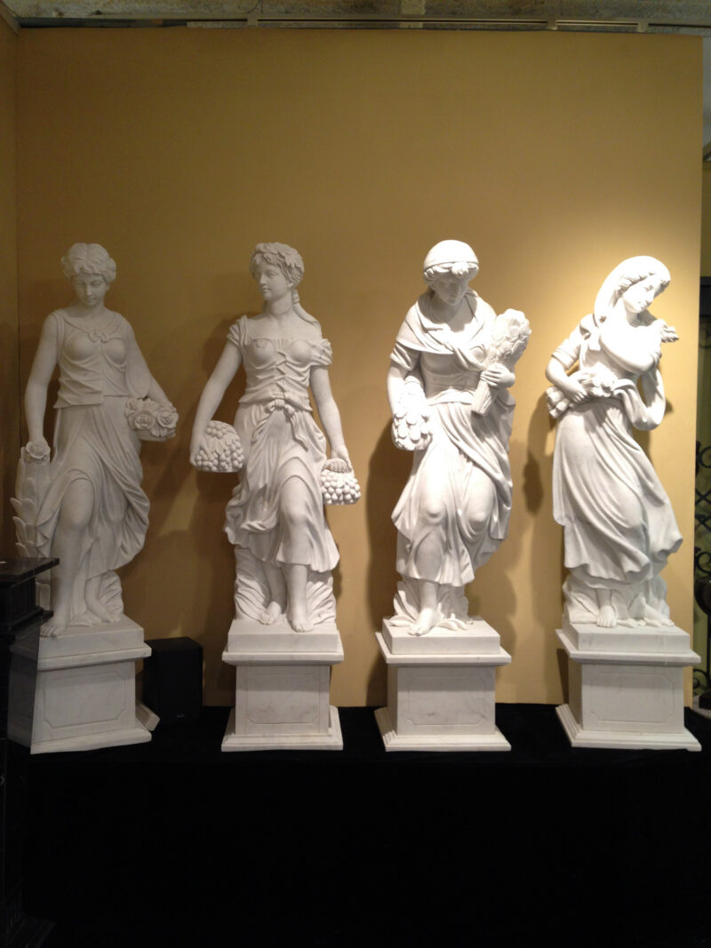 JBS455 Marble Lady Four Seasons Statue Set (Medium) Metropolitan Galleries Inc.
