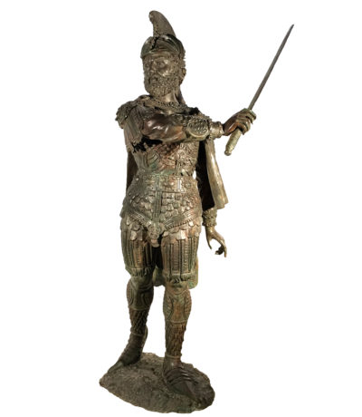 SRB991255 Bronze Centurion Sculpture Metropolitan Galleries Inc.