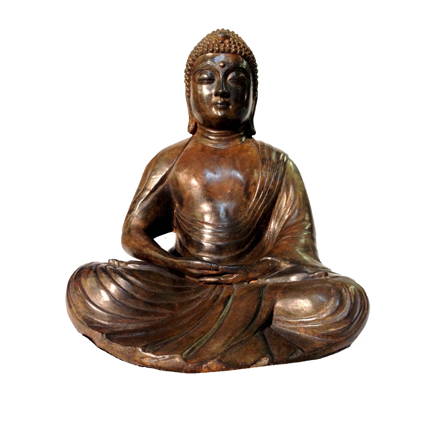 Bronze Buddha Metropolitan Galleries Inc