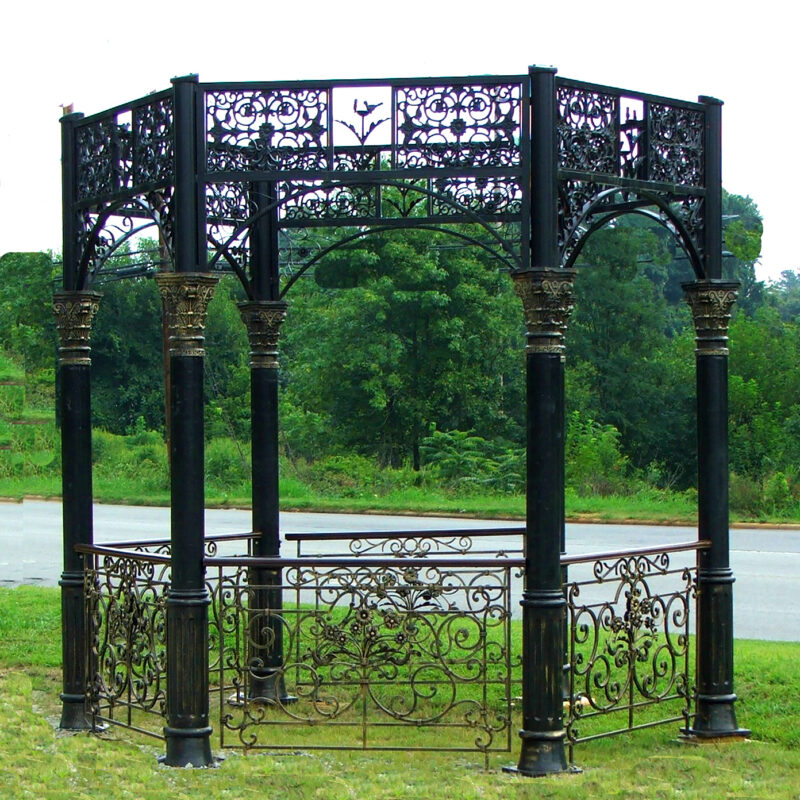Wrought Iron Gazebo Metropolitan Galleries