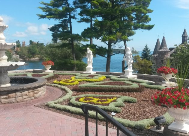 Marble Lady Four Seasons | Boldt Castle New York