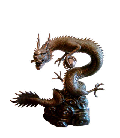 Bronze Wicked Dragon Fountain Metropolitan Galleries Furniture Trade