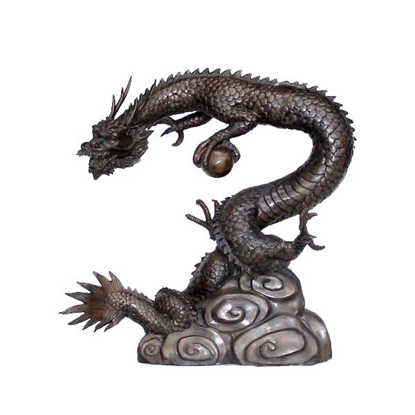 Bronze Skinny Dragon Fountain Metropolitan Galleries Furniture Trade