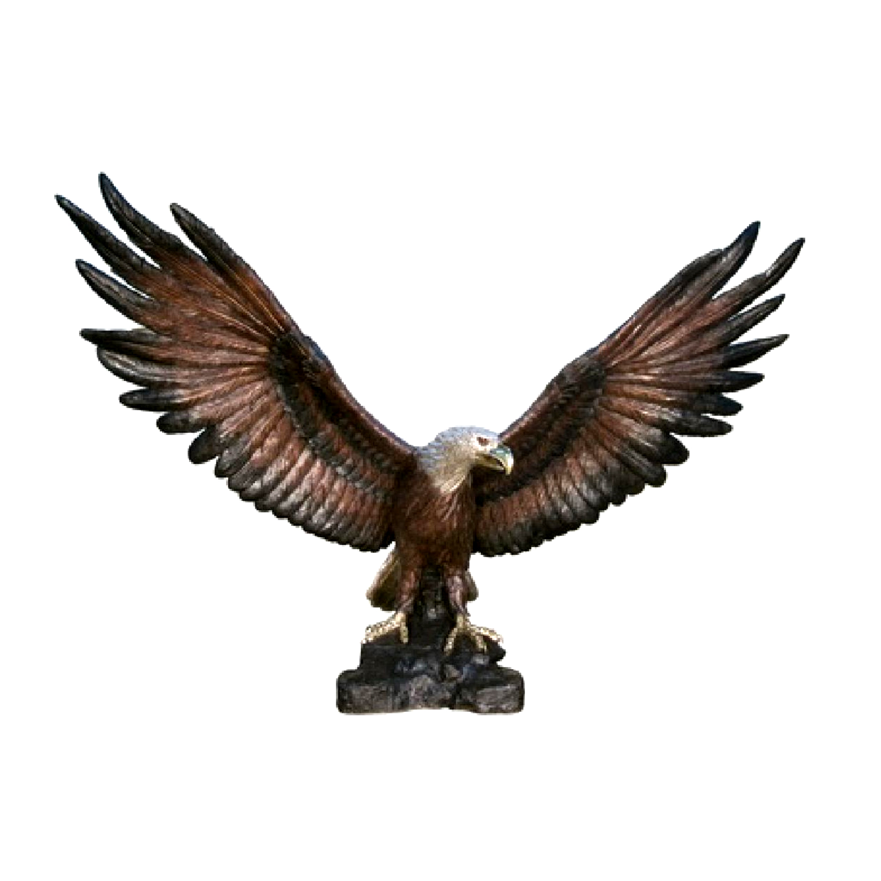 Bronze Large Eagle Sculpture Metropolitan Galleries Inc