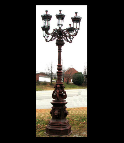 INL350 Iron Street Lamp Metropolitan Galleries Inc.