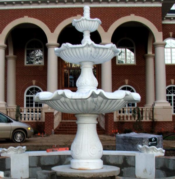 JBF251 Marble Raffaldini Fountain with Capstone Metropolitan Galleries Inc.