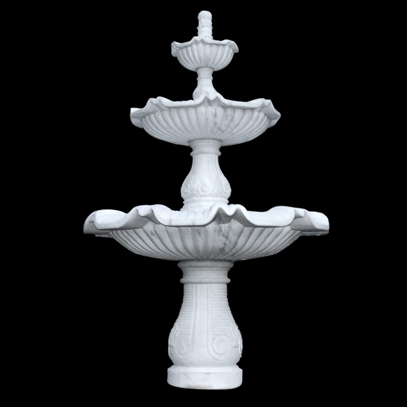 JBF251 Marble Raffaldini Tier Fountain with Copia by Metropolitan Galleries Inc