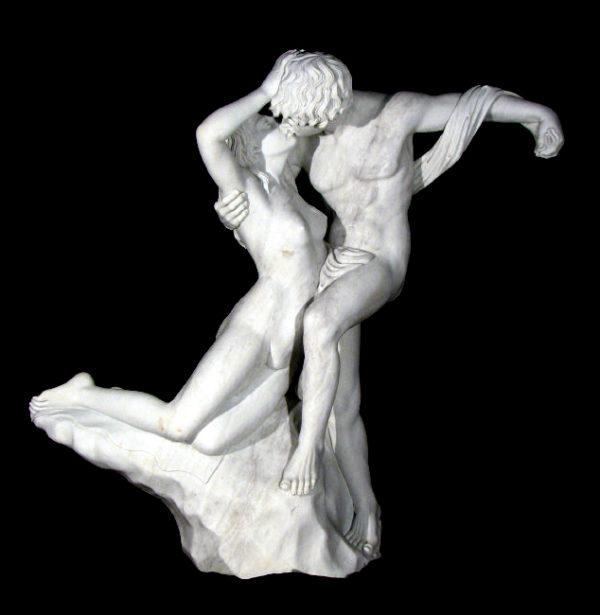 JBF625 Marble Lovers Fountain Sculpture Metropolitan Galleries Inc.