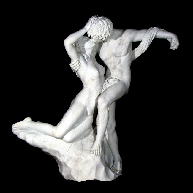 JBF625 Marble Lovers Fountain Sculpture Metropolitan Galleries Inc.