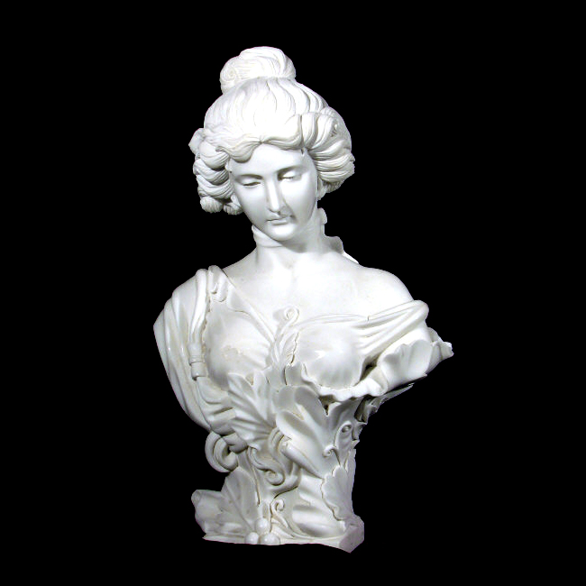 JBS312 French Lady Bust Sculpture Metropolitan Galleries Inc.