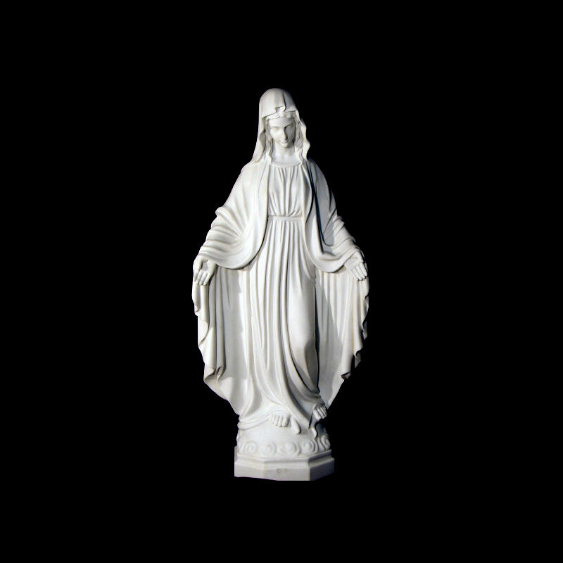 JBS328 Marble Madonna Sculpture by Metropolitan Galleries Inc