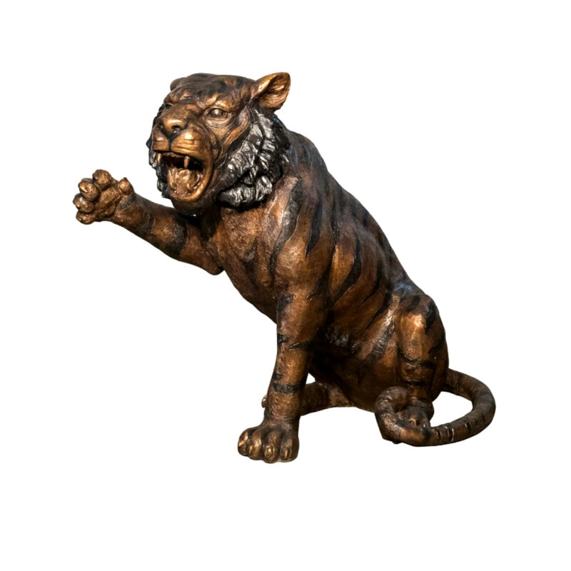 SRB056774 Bronze Baby Lion Sculpture Metropolitan Galleries Inc.