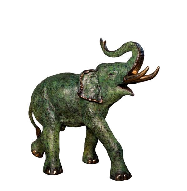 SRB074235-R Bronze Elephant Sculpture Metropolitan Galleries Inc.