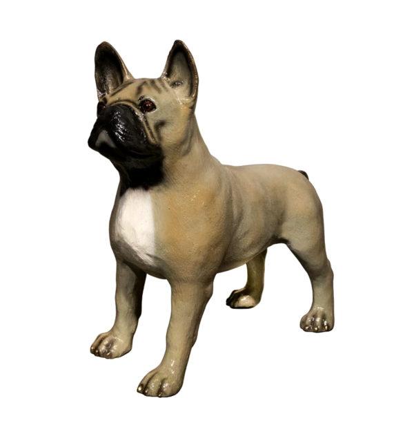 SRB094566-SP Bronze Dog Sculpture Metropolitan Galleries Inc.