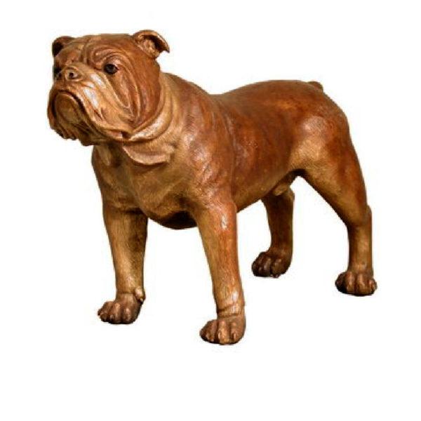 SRB028773 Bronze Dog Sculpture Metropolitan Galleries Inc.