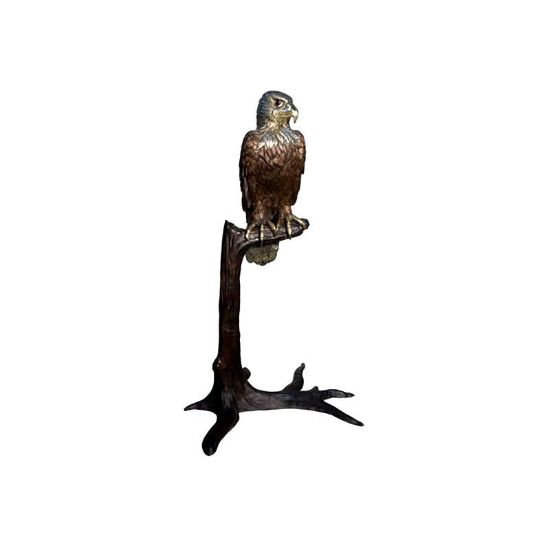 SRB094488 Bronze Bird on Branch Sculpture by Metropolitan Galleries Inc