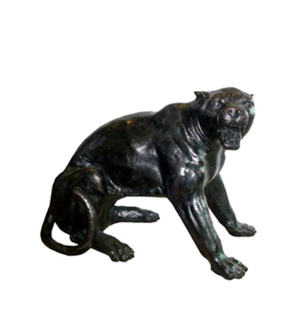 SRB702860-B Bronze Panther Sculpture (Right) Metropolitan Galleries Inc